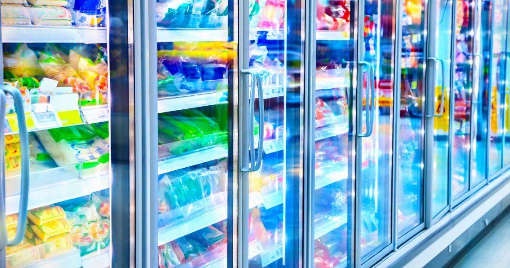 Banchi surgelati dei supermercati