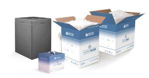 contenitori Termoblock di Dryce per il trasporto refrigerato del vaccino anti-covid