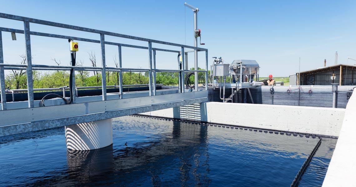 Impianto per il trattamento delle acque reflue industriali