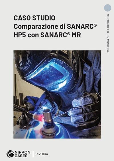 Copertina Caso studio comparazione SANARC® HP5 (EX HELISTAR HP5) e SANARC® MR