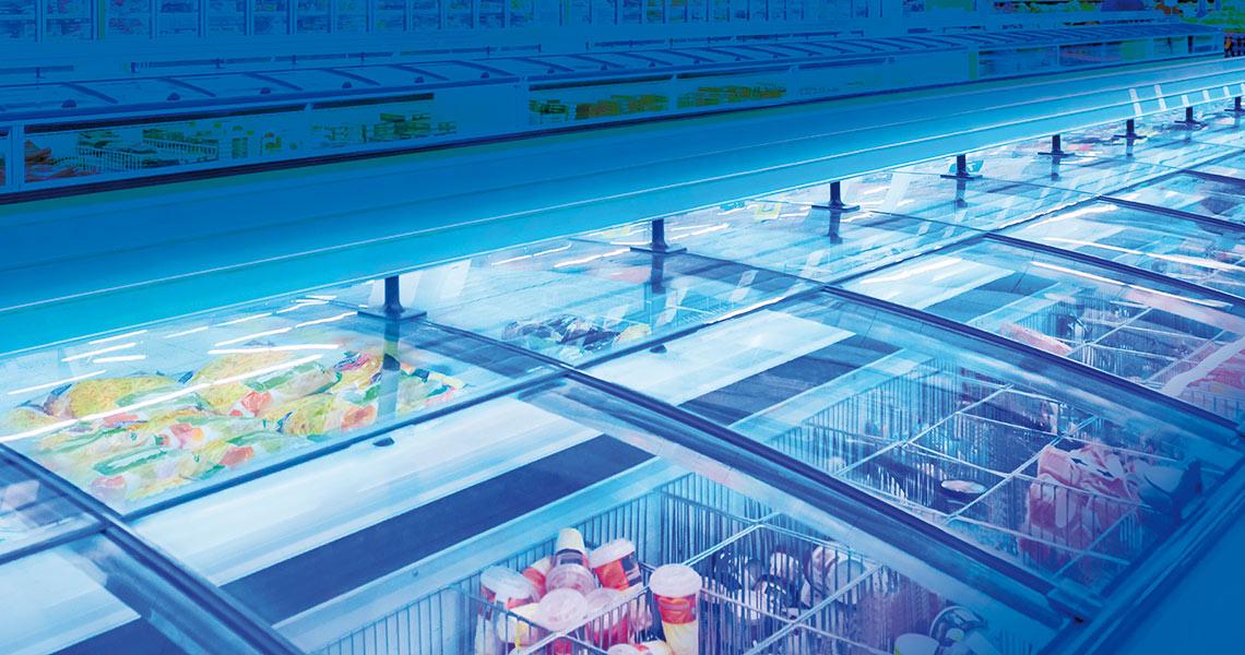 refrigeranti a2l per frigoriferi e congelatori a uso commerciale