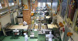 Azienda di produzione biscotti che usa raffreddamento impasti